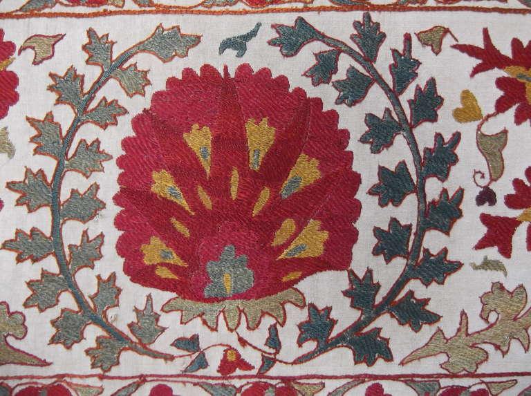 Hand Embroidery Suzani Textile Screen 2
