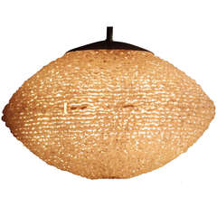 Lucite Sphere Chandlier