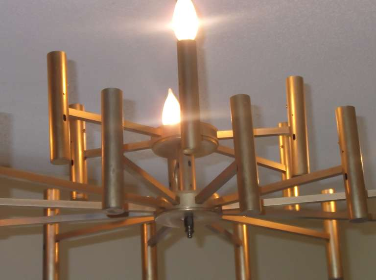 American Modern chandelier For Sale
