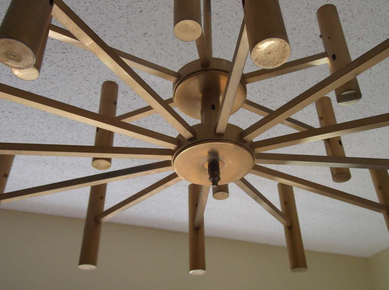 Late 20th Century Modern chandelier For Sale