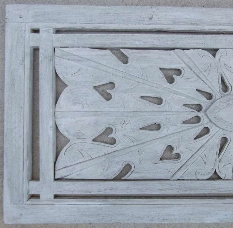 20th Century Architectural Vintage Wall Wood Carving For Sale