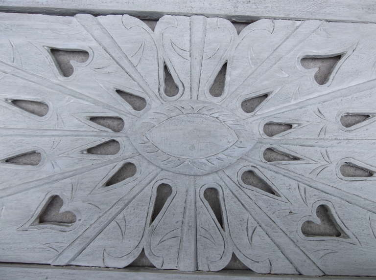 Architectural Vintage Wall Wood Carving For Sale 1