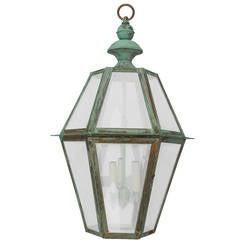 Six Sides Copper Lantern