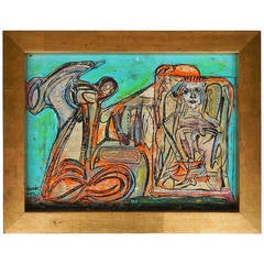 """Alexander Gore Modern Art """"Enduro Rider"""""""
