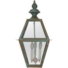 Four Side Architectural Hanging Lantern
