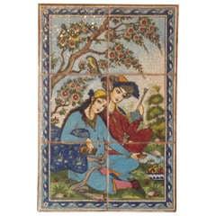 Persian Tile Wall Hanging