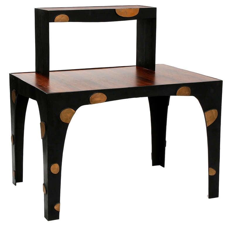 Unique desk in bronze by jacques jarrige 2006 for sale at for Unique desks for sale