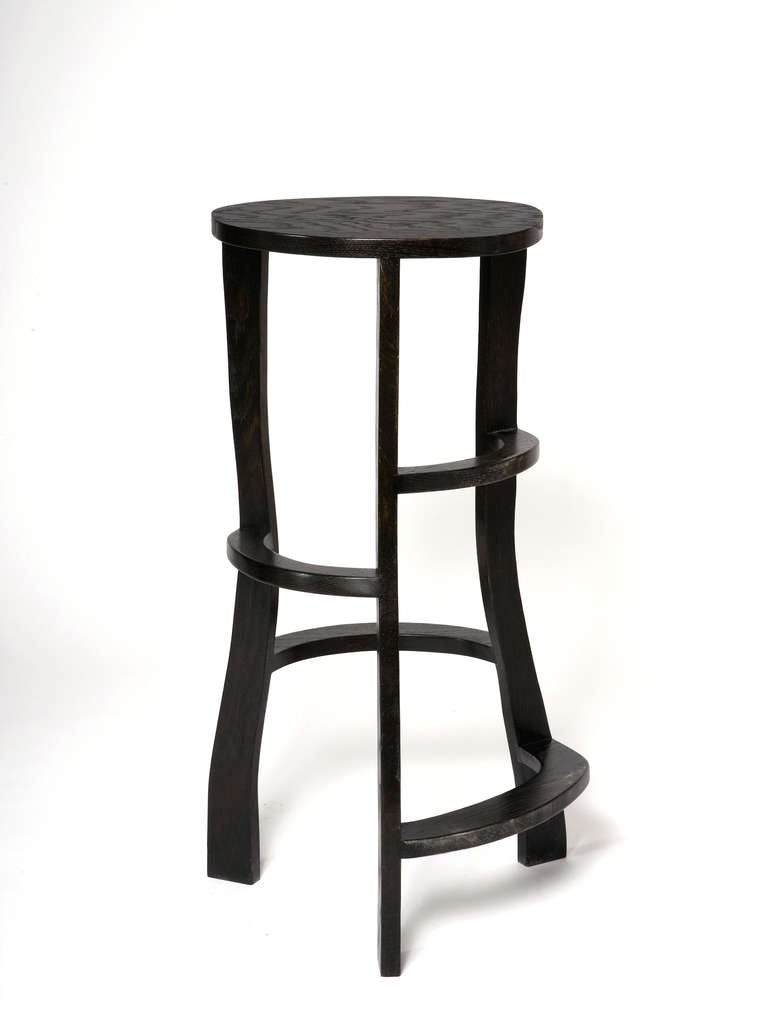 Hand Sculpted Bar Stools by Jacques Jarrige 1692013 For Sale  : barstoolkl from www.1stdibs.com size 768 x 1020 jpeg 28kB