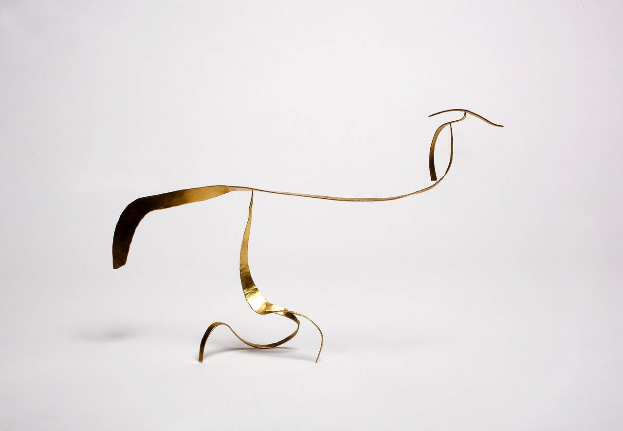 French Stabile Sculpture by Jacques Jarrige, 2014 For Sale