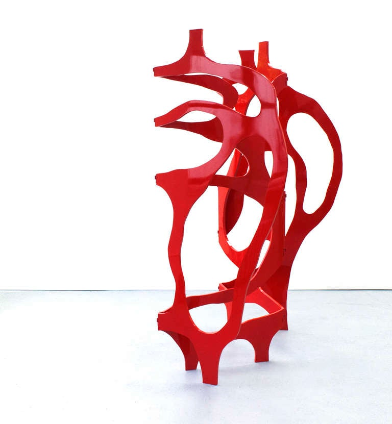Sculpture-Screen in Lacquer by Jacques Jarrige ©2012 In Excellent Condition For Sale In New York, NY