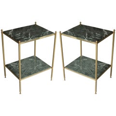 Elegant Pair of Side Tables