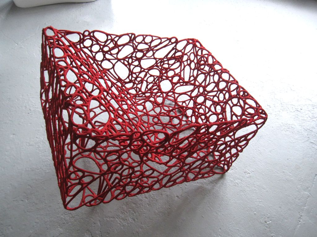 Handwoven Artist Chair by Cheik Diallo For Sale 2