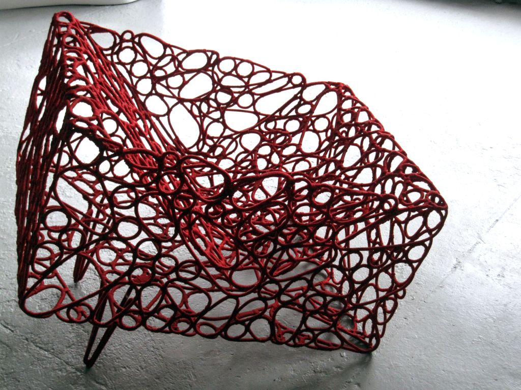 Handwoven Artist Chair by Cheik Diallo For Sale 3