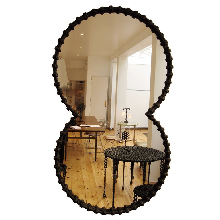 Large Hand Crafted Mirror