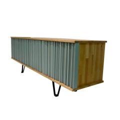 Reclaimed Oak Artist Cabinet