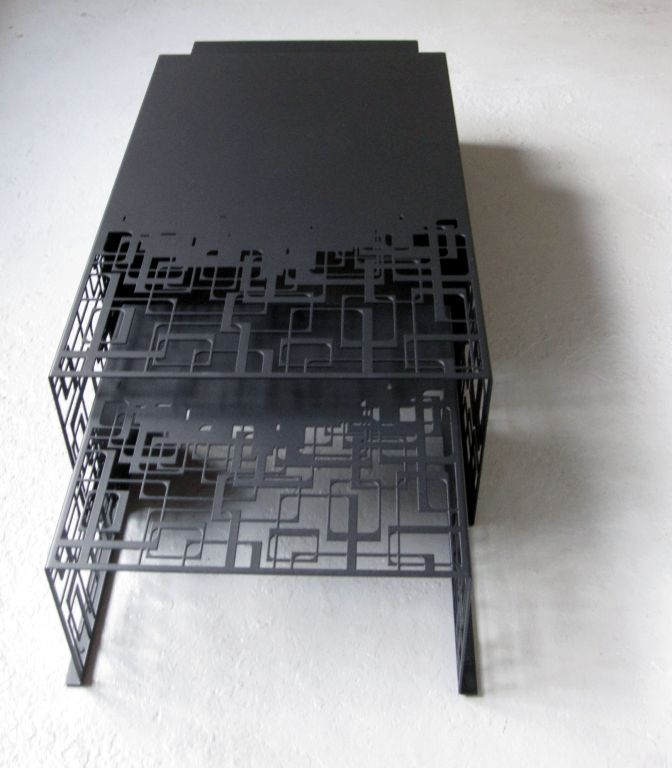 Laser Cut Nesting Cocktail Tables For Sale At 1stdibs