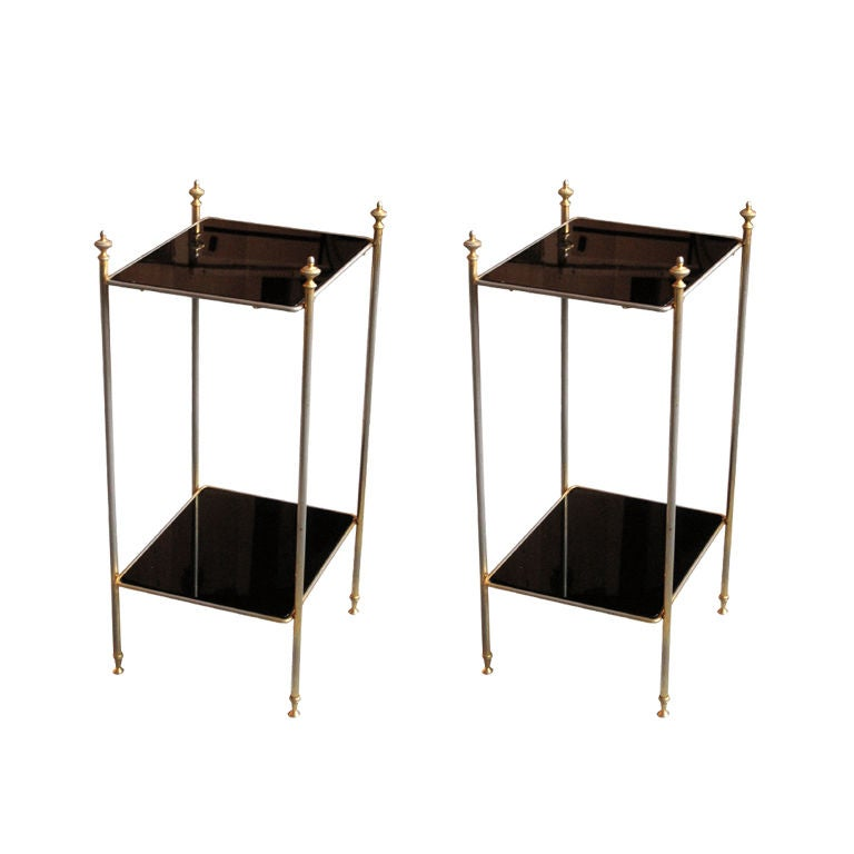 Pair of Side Tables Manner of Jansen