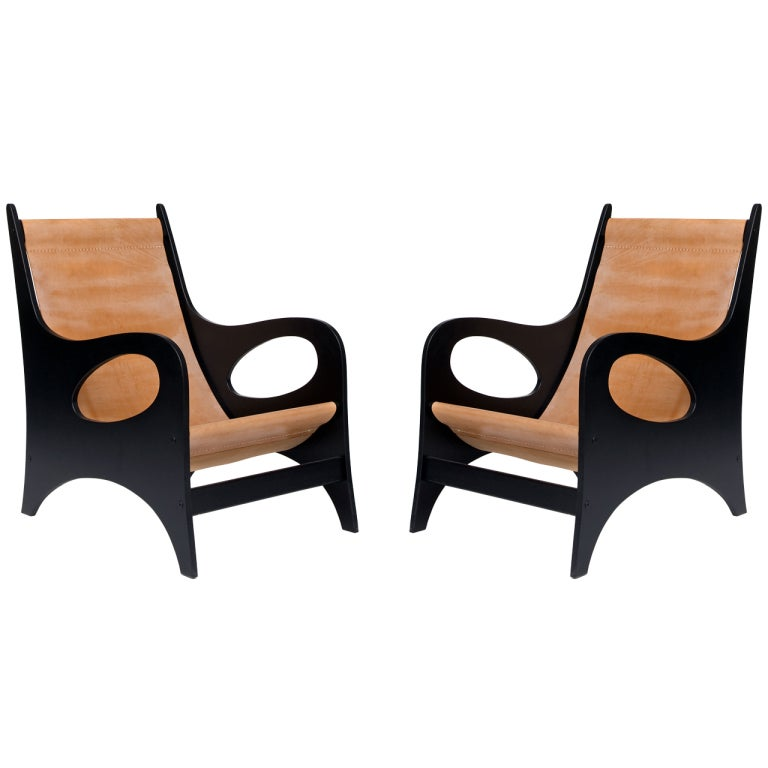 Pair of Armchairs by Jacques Jarrige ©1998