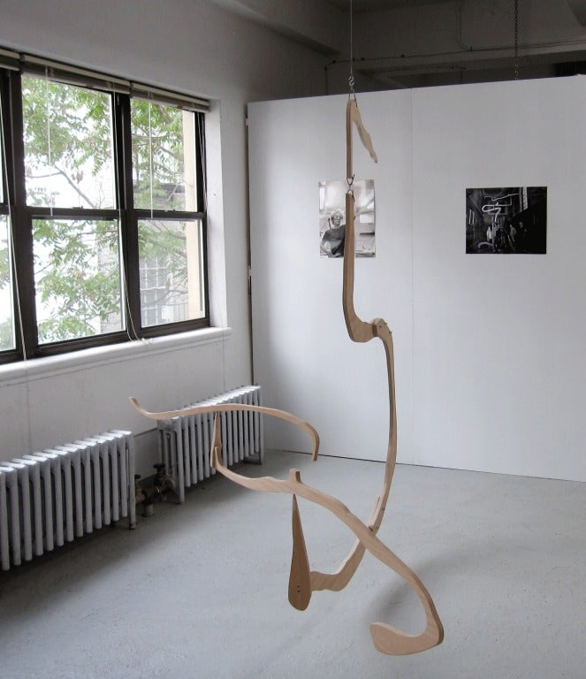 Hanging Mobile Sculpture by Jacques Jarrige ©2012 In Excellent Condition For Sale In New York, NY