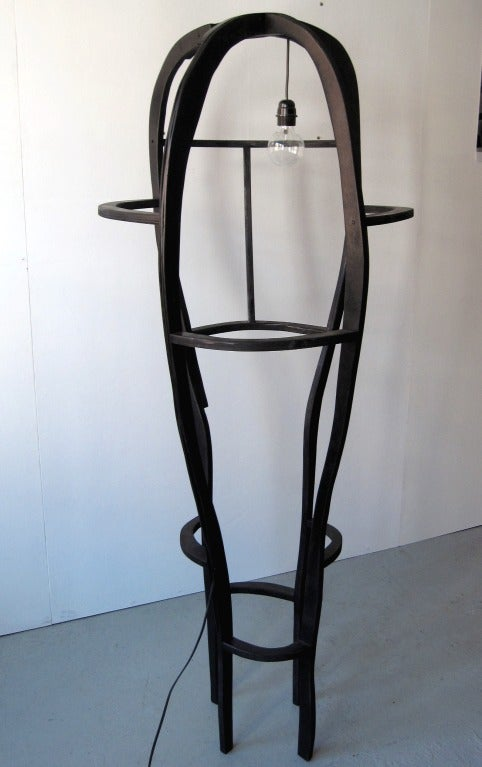 Contemporary Floor Lamp Sculpture by Jacques Jarrige ©2012 For Sale