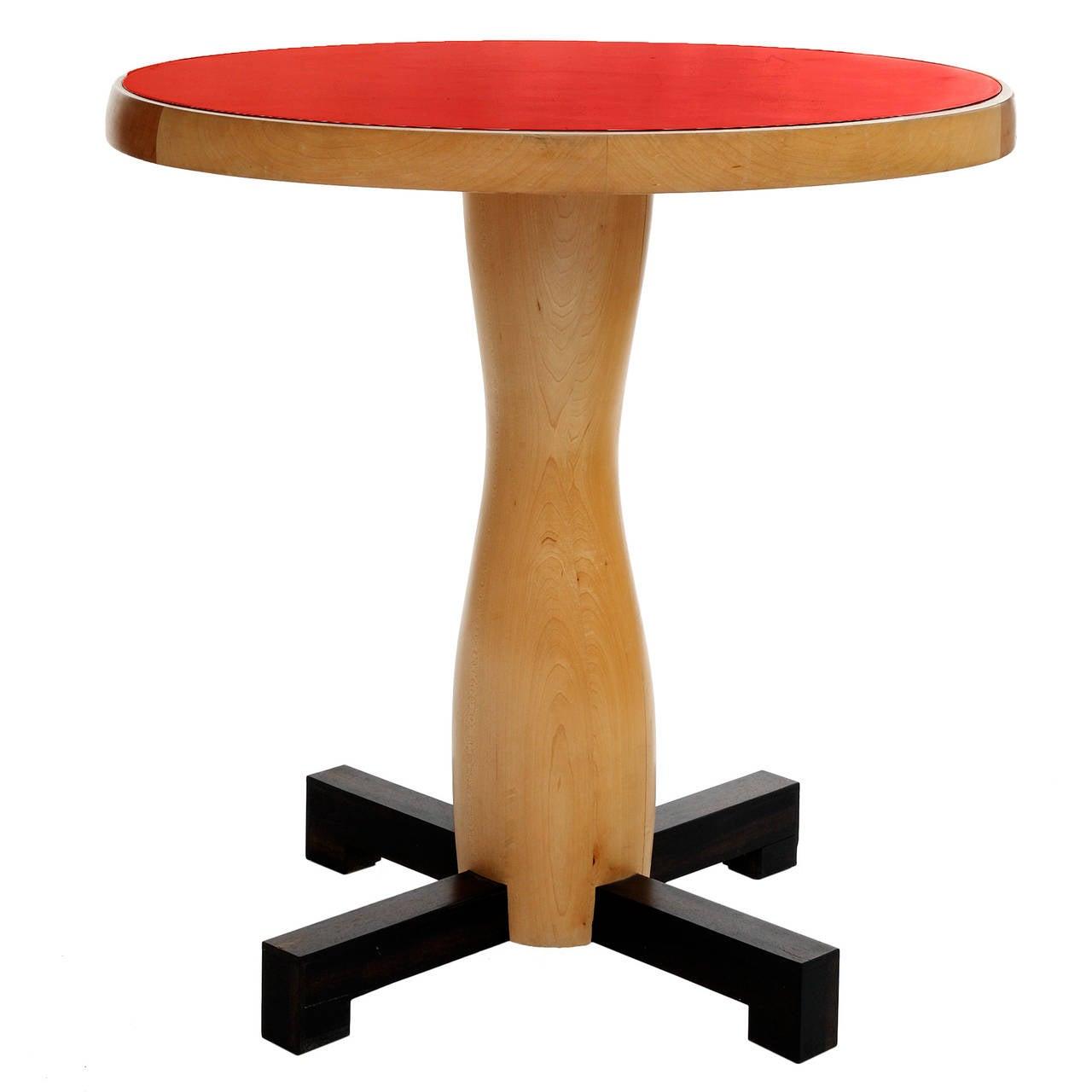 Unique Gueridon Round Table by Jacques Jarrige, 2006