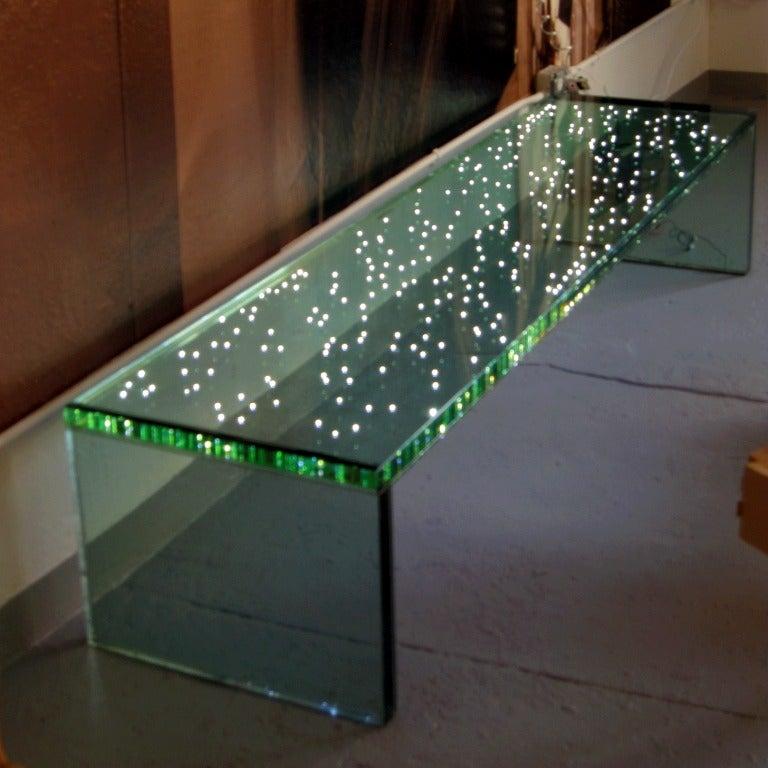Led Light Bench : L e d bench by ingo maurer at stdibs