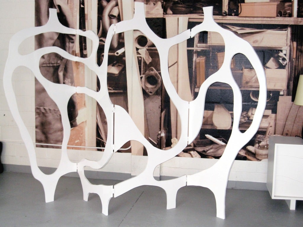 Contemporary Sculpture-Screen in Lacquer by Jacques Jarrige ©2012 For Sale