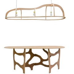 Dining Table / Console and Suspension by Jacques Jarrige ©2013