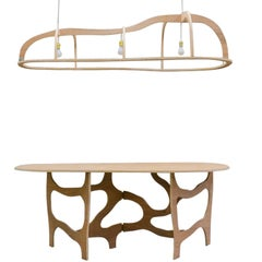 Dining Table or Console and Suspension by Jacques Jarrige, 2013