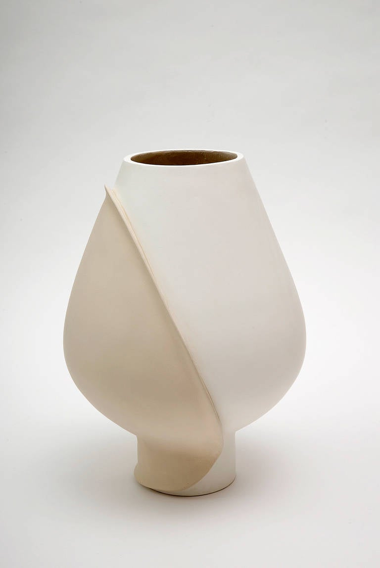 Large Ceramic Vase by Eric Schmitt For Sale 1