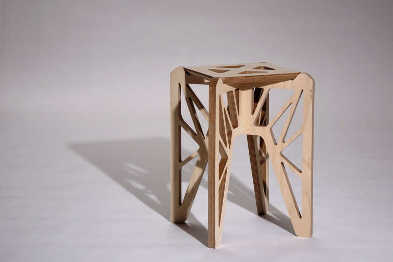 Contemporary Butterfly Stools by Adrien de Melo For Sale