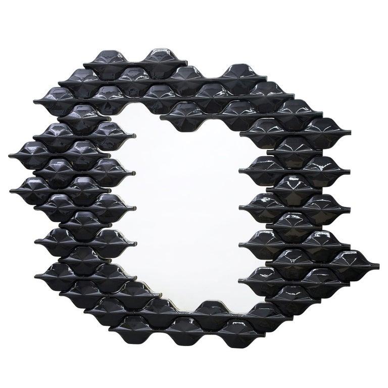 Ceramic Tiled Mirror For Sale