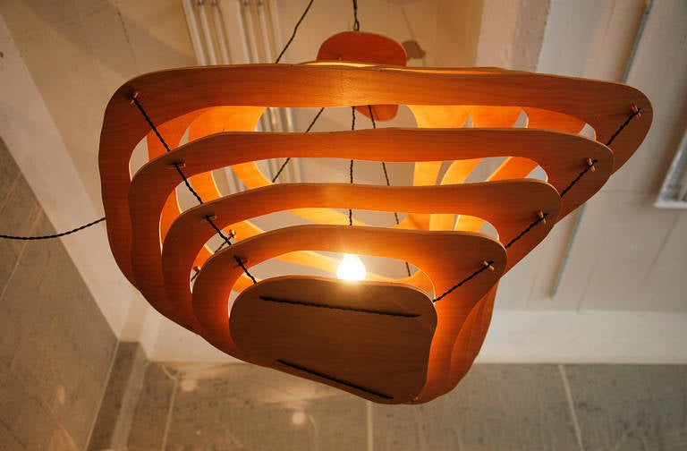 Contemporary Chandelier by Jacques Jarrige ©2014 For Sale