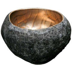 Vessel with Platinum and Gold by Cristina Salusti