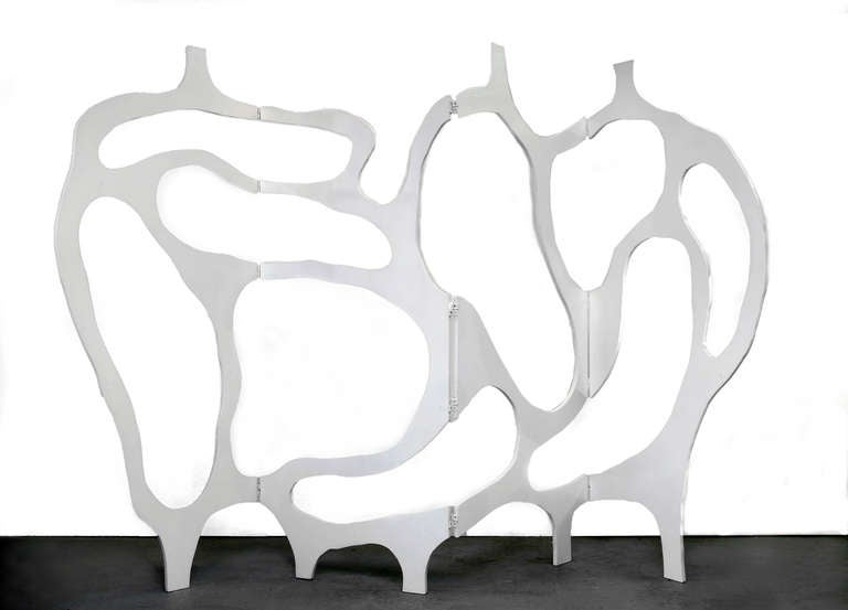 Sculpture-Screen in Lacquer by Jacques Jarrige ©2012 For Sale 2