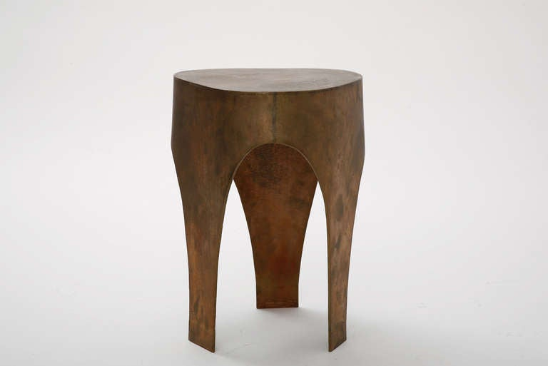 Unique Stool in Bronze by Jacques Jarrige, 2005 In Excellent Condition For Sale In New York, NY