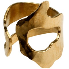 Gold Sculpture Ring by Jacques Jarrige ©2014