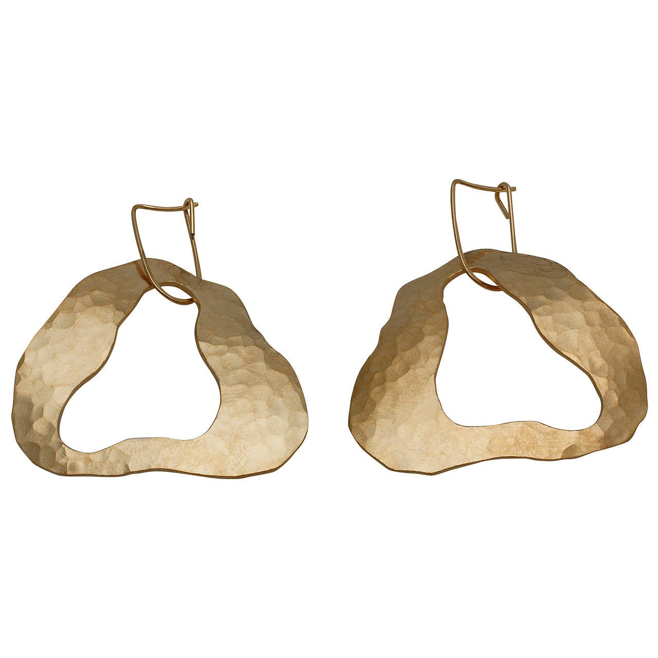 Sculpture Earrings by Jacques Jarrige, 2014 For Sale