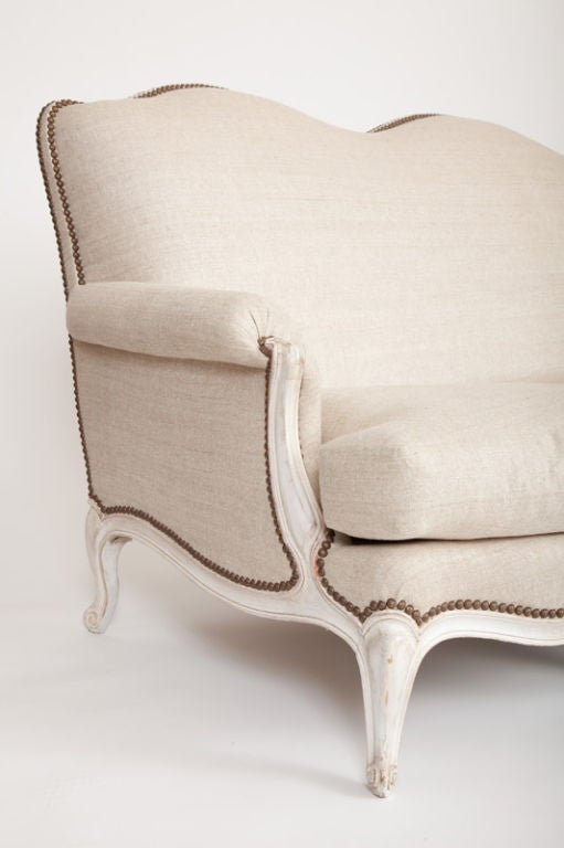Mid-20th Century Louis XV Style Sofa in the Manner of Maison Jansen For Sale