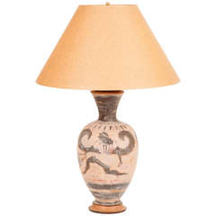 Italian Grand Tour Lamp in the Etruscan Taste