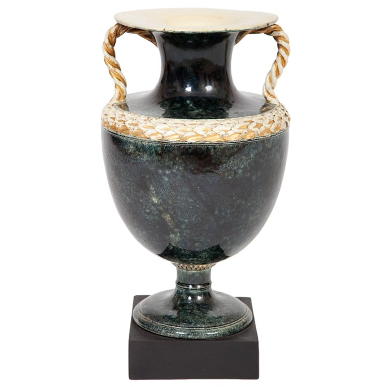 Fine English Urn Form Vase By Wedgwood And Bentley For Sale At 1stdibs