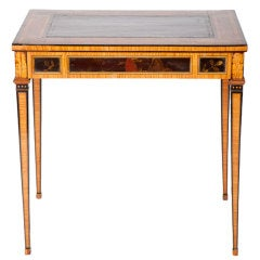 Fine Dutch Neoclassical Writing Table