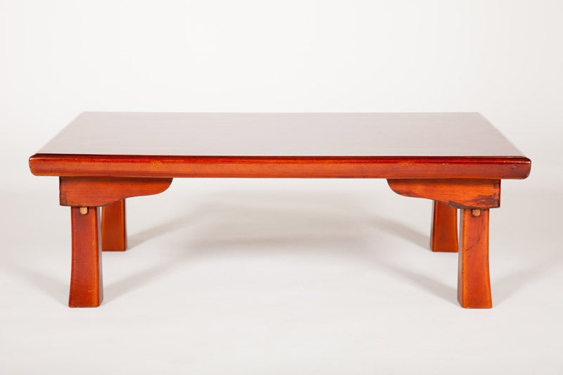 japanese lacquered low table for sale at 1stdibs