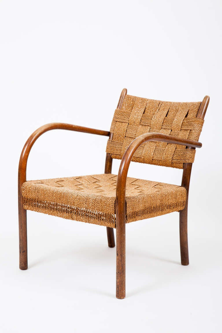 This Danish Modern Armchair Was Designed By Frits Schlegel And Manufactured  By Fritz Hansen. Schlegel
