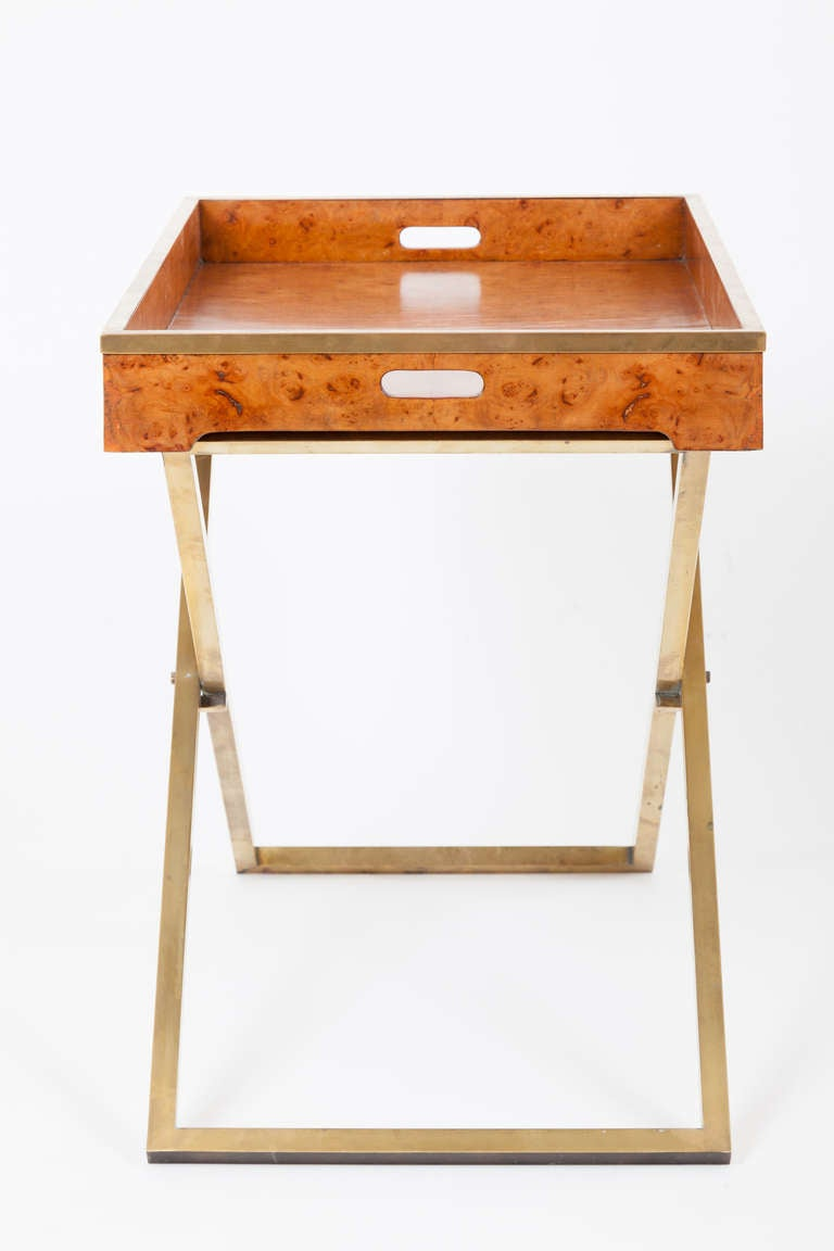 American Modern Folding Tray Table For Sale At 1stdibs