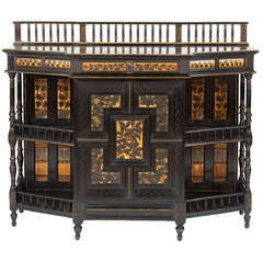 Fine and Rare English Aesthetic Movement Cabinet