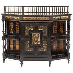 Fine and Rare English Aesthetic Movement Cabinet