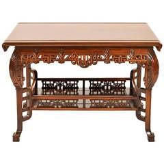 Fine French Japonisme Center Table
