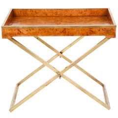 American Modern Folding Tray Table