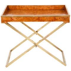 American Modern Folding Tray Table